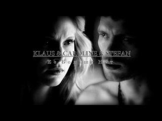 ► Stefan+Caroline+Klaus    Трое