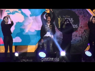 150122 팬캠/fancam 서울가요대상 은혁&동해 : 모터사이클 + 1+1=Love + 떳다 오빠
