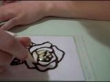 Как рисовать шоколадом.