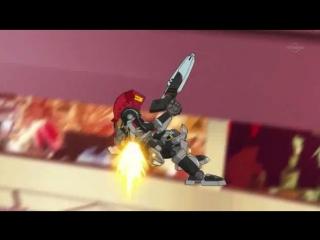 Danball Senki W | Ep.1 | (LBX -  Битвы маленьких гигантов ТВ-2 1 серия)