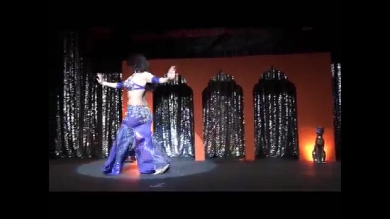 Sandra Harir 'Enta Meen' 2do Lugar '8vo Concurso Internacional Maria Shazadi'