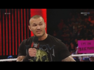 Randy Orton and Dean Ambrose vs Lita Victoria  Trish (Heel Divas) Mickie James Commentary