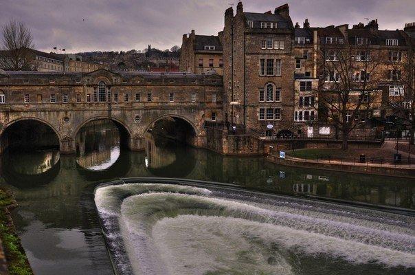 Прекрасный город Бат, Англия