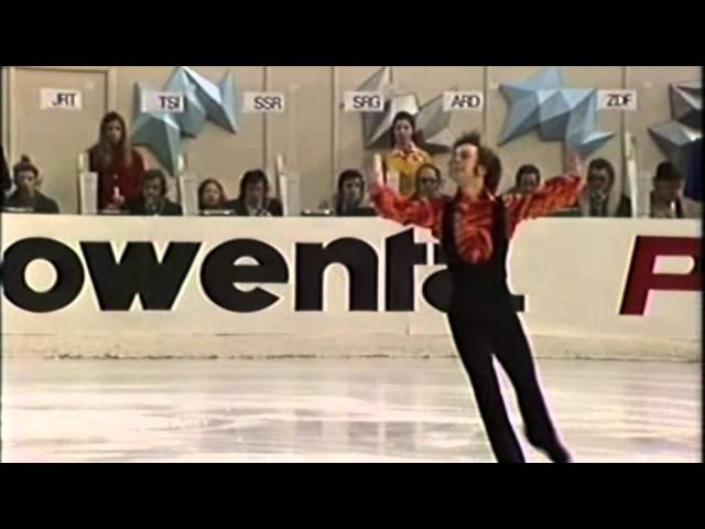 Toller Cranston 1973 World Figure Skating Championships Exhibition
