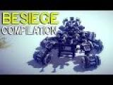 ►Besiege Compilation - Awesome ground war machines