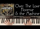 HOW TO PLAY: OVER THE LOVE - FLORENCE AND THE MACHINE (GREAT GATSBY SOUNDTRACK)
