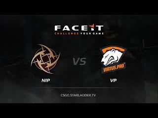 Ninjas in Pyjamas vs Virtus pro, FACEIT Stage 2 map de train