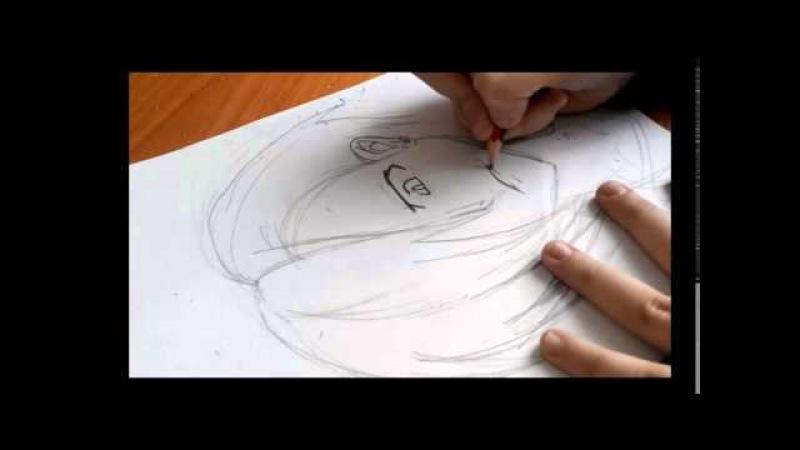 Рисую Урушихару Ханзо/Сатана на подработке/Люцифер