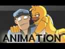Chica and the Night Guard - Poker Face [FNAF Animation MV]