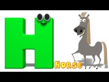 Phonics Letter- H Alphabet Rhymes For Toddlers ABC Songs For Babies by Kids Tv