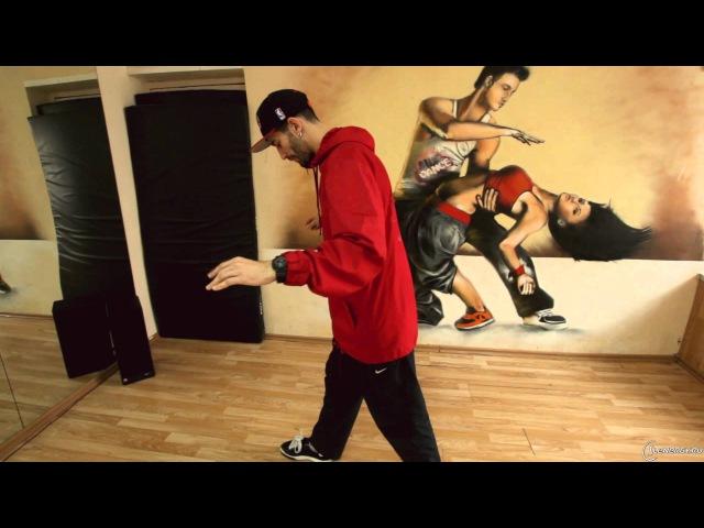 Хип-хоп танцы – школа | Урок 7 | Bart Simpson, Running man, Kick Step