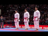 (12) Karate Japan vs Italy. Final Male Team Kata. WKF World Karate Champions 2012.