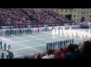 Фестиваль военных оркестров на Красной Площади Спасская Башня 2014. Кремлёвский полк.