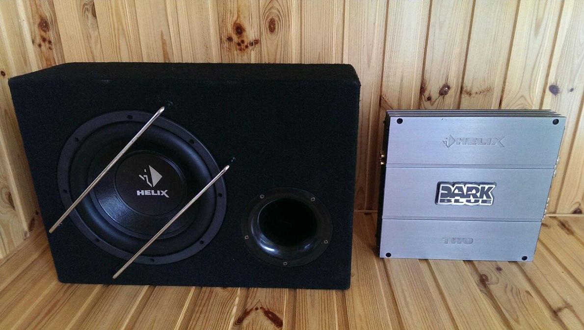 продам Усилитель Helix Dark Blue TWO и Сабвуфер Helix P10 V