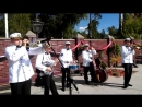 I`ve Found A New Baby-Pust Begut(russian song)-Valeriy Bukreev Captain`s Jazz Band 2015 - Live in The Village Of Ilyinsky,Moscow