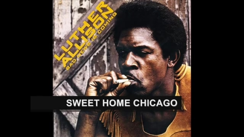 LUTHER ALLISON - BAD NEWS IS COMING (FULL ALBUM)