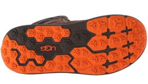 Встретились очень интересные ботинки UGG с высокой подошвой и хорошей  тракцией для зимы. Жаль 56f272eb3e1ca