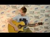 Как играть бой песни Стук - кино на гитаре