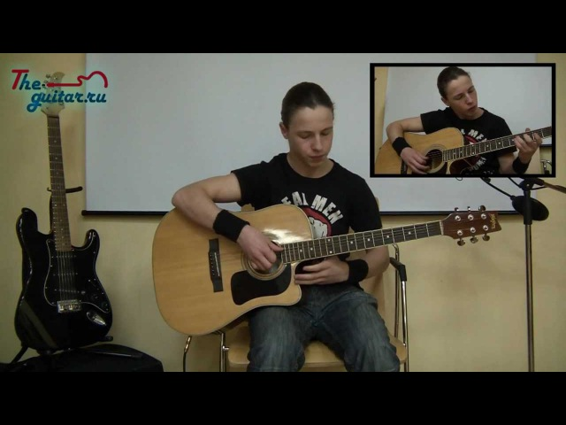 Metallica Nothing Else Matters Full guitar cover with solo by Lev Fridman