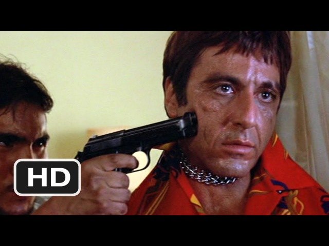 Scarface (1983 - Chainsaw Threat Scene (28) | Movieclips