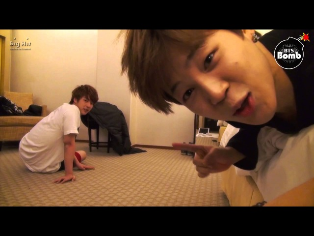[NAVER BANGTAN BOMB] Jin Jimin push-ups xD