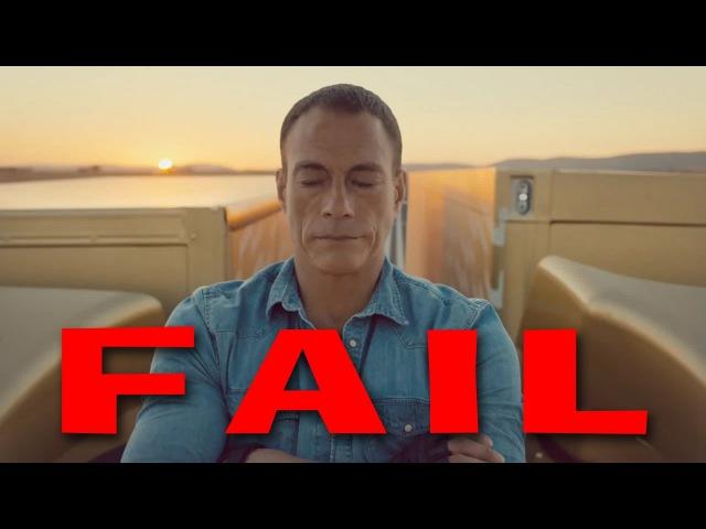 EPIC SPLIT FAIL Feat. Van Damme - Volvo Truck Split Commercial