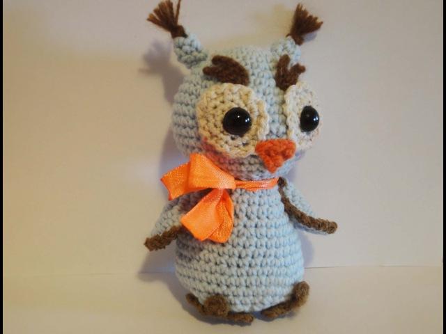 СОВЁНОК Часть 1 Howlet Crochet Part 1