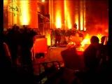 Огненное шоу у здания Харьковской облгосадминистрации в день непрощения