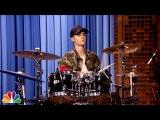 Justin Bieber and Questlove Drum-Off