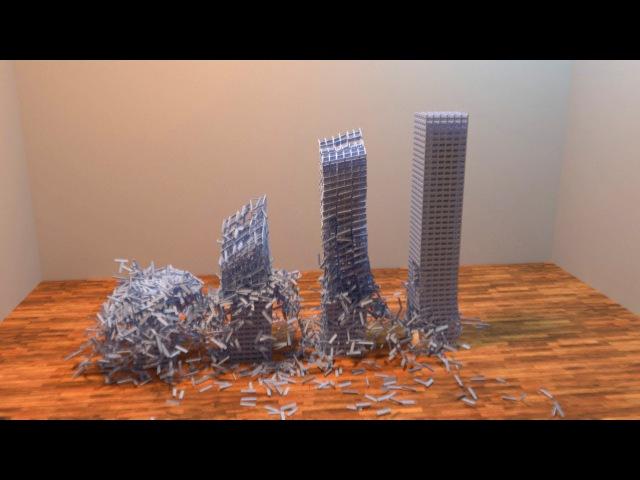 More Tower Destruction - HD