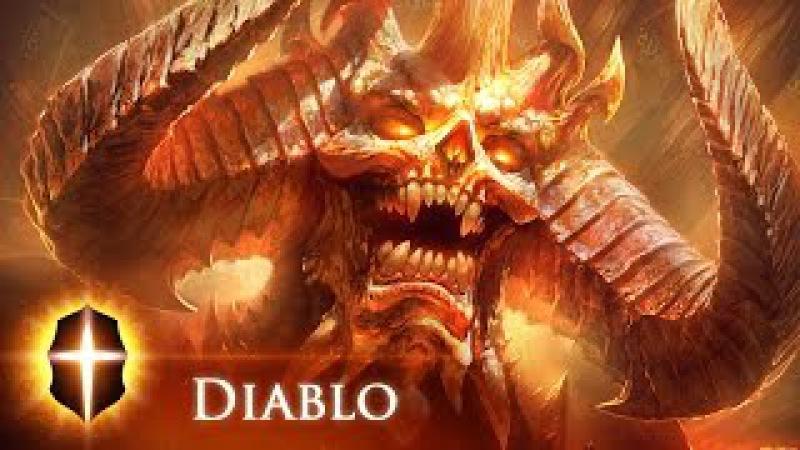 Diablo(Coloring) - Original SpeedPainting by TAMPLIER 2015
