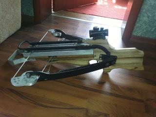 Арбалет своими руками / Handmade crossbow