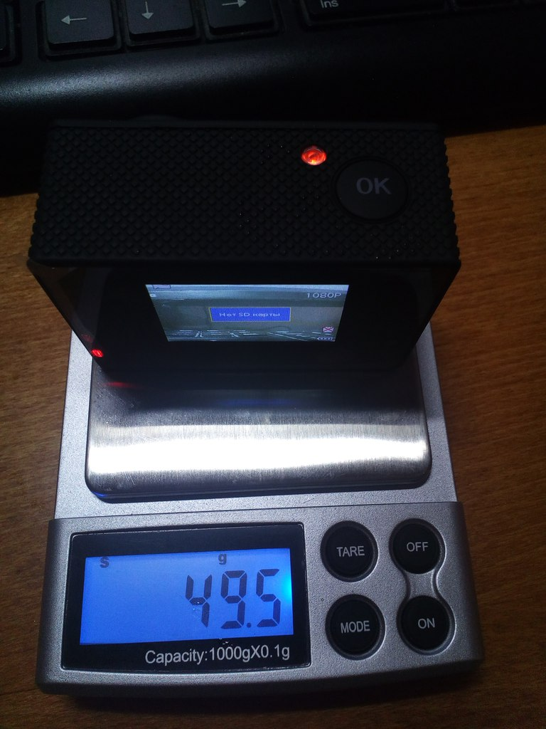 DD4: Удивительная камера в стиле SJCAM sj4000
