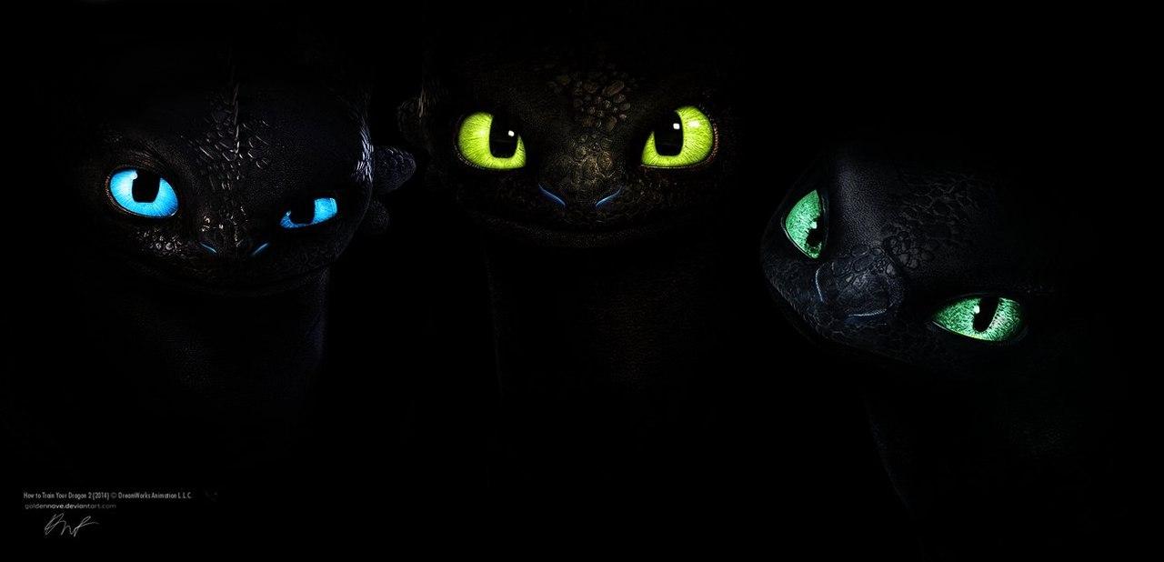 картинки ночных фурий