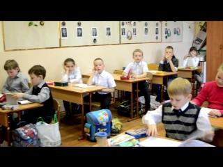сравнение 1 и 11 класса, последний звонок 22.05.2015 школа 122