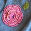Кружево.Вышивка.Вязание.Листики-цветочки