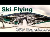Прыжки на лыжах с трамплина с Oculus Rift! Угол обзора   360° Панорамное видео   4K