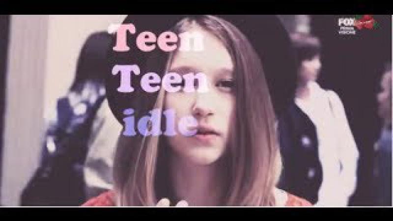 ►AHS Violet Harmon    Teen idle