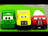 Мультики про машинки: Гонки! Рабочие машины, игрушки Щенячий патруль. Игры для мальчиков