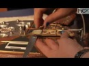Le rêve de Chronos Création Alain Valette coutelier d'art FiCX Paris 2014