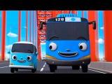 Приключения Тайо НОВЫЙ сезон, 1 серия, Тайо и Бонг Бонг, мультики для детей про автобусы и машинки