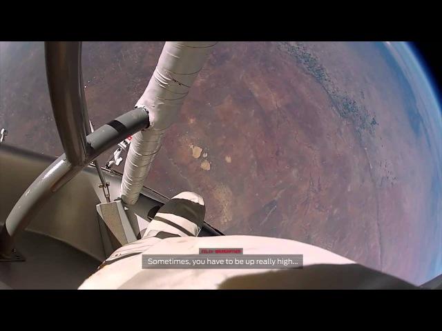 Прыжок из стратосферы 2012 GoPro