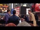 Avengers Cast Trying To Keep Warm In NYC Weather - Good Morning America - April 24, 2015