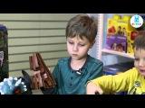 Егор и Тимофей, маленькие эксперты магазина KENGA, о Большом треке от Dino Mundi