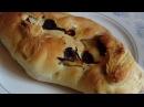 Хлеб с вялеными томатами чесноком и базиликом
