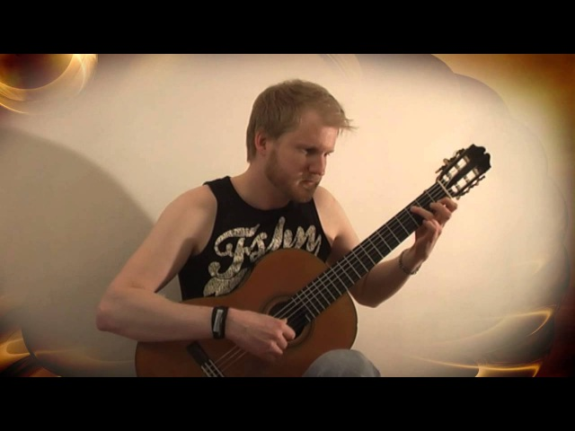 Metallica - Nothing Else Matters (Classical Guitar Cover by Jonas Lefvert)