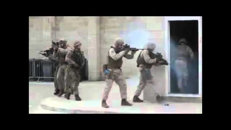 Элитная американская армия на учениях