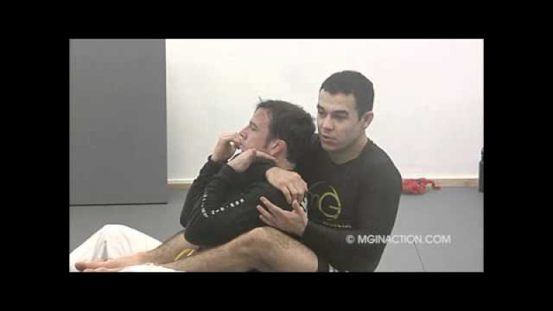 MG in Action - Rear Naked Choke when the opponent defends
