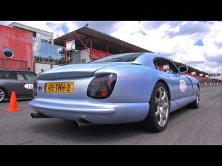 TVR Cerbera 4.5 V8 400HP - Acceleration Sounds!