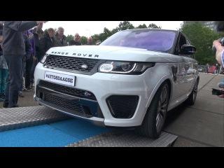 Land Rover Range Rover Sport SVR - Brutal Revs, Accelerations + Overview